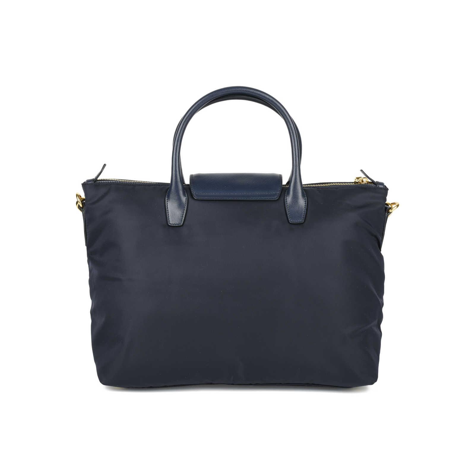 82a99b612f3b ... Authentic Second Hand Prada Tessuto Saffiano Tote Bag (PSS-446-00005)  ...