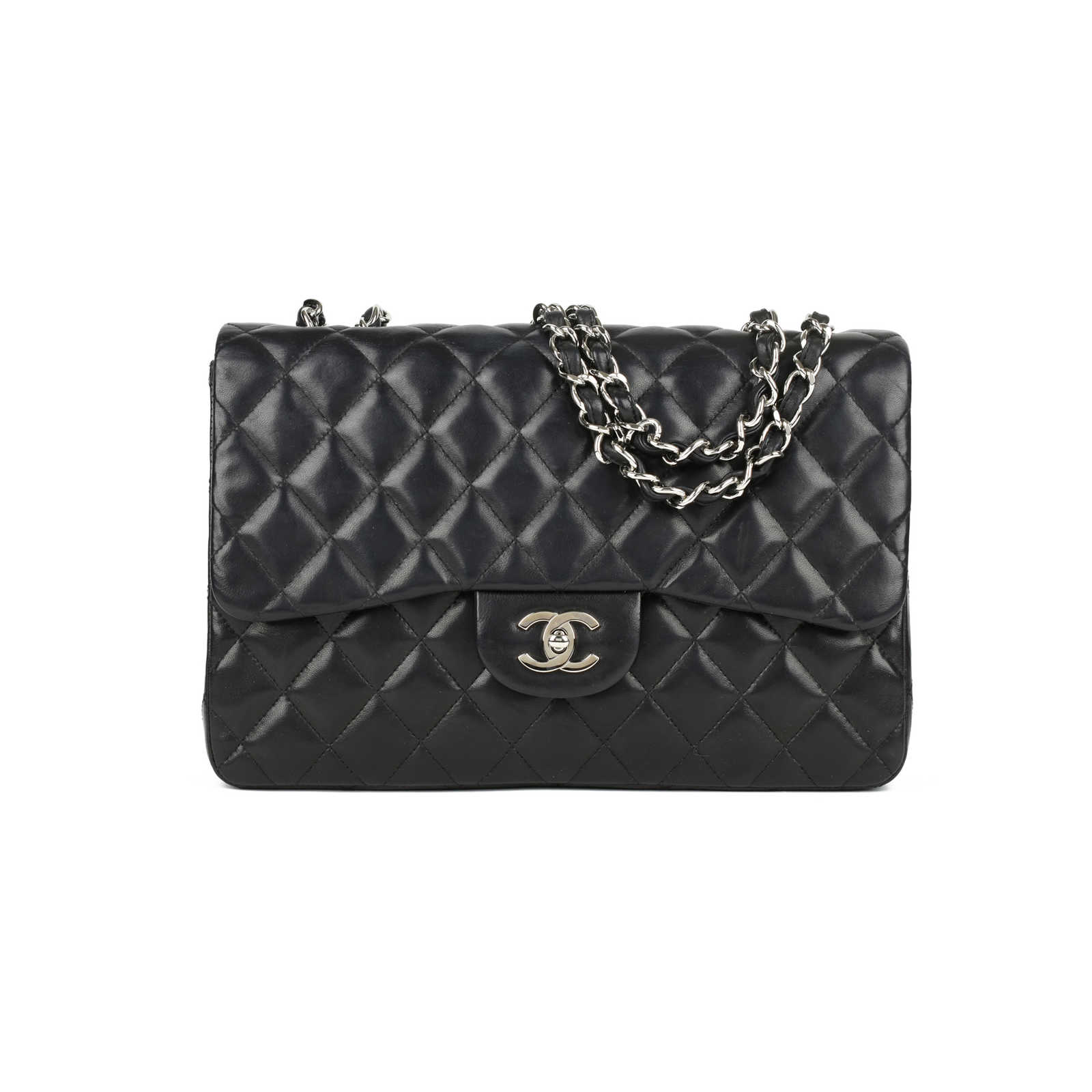 57d08e78575 Authentic Second Hand Chanel Classic Jumbo Flap Bag (PSS-446-00012) ...