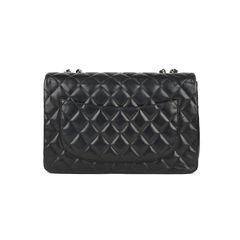 Chanel classic jumbo flap bag black 2?1517219196