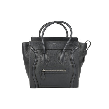 Authentic Second Hand Céline Micro Luggage Tote (PSS-446-00014)