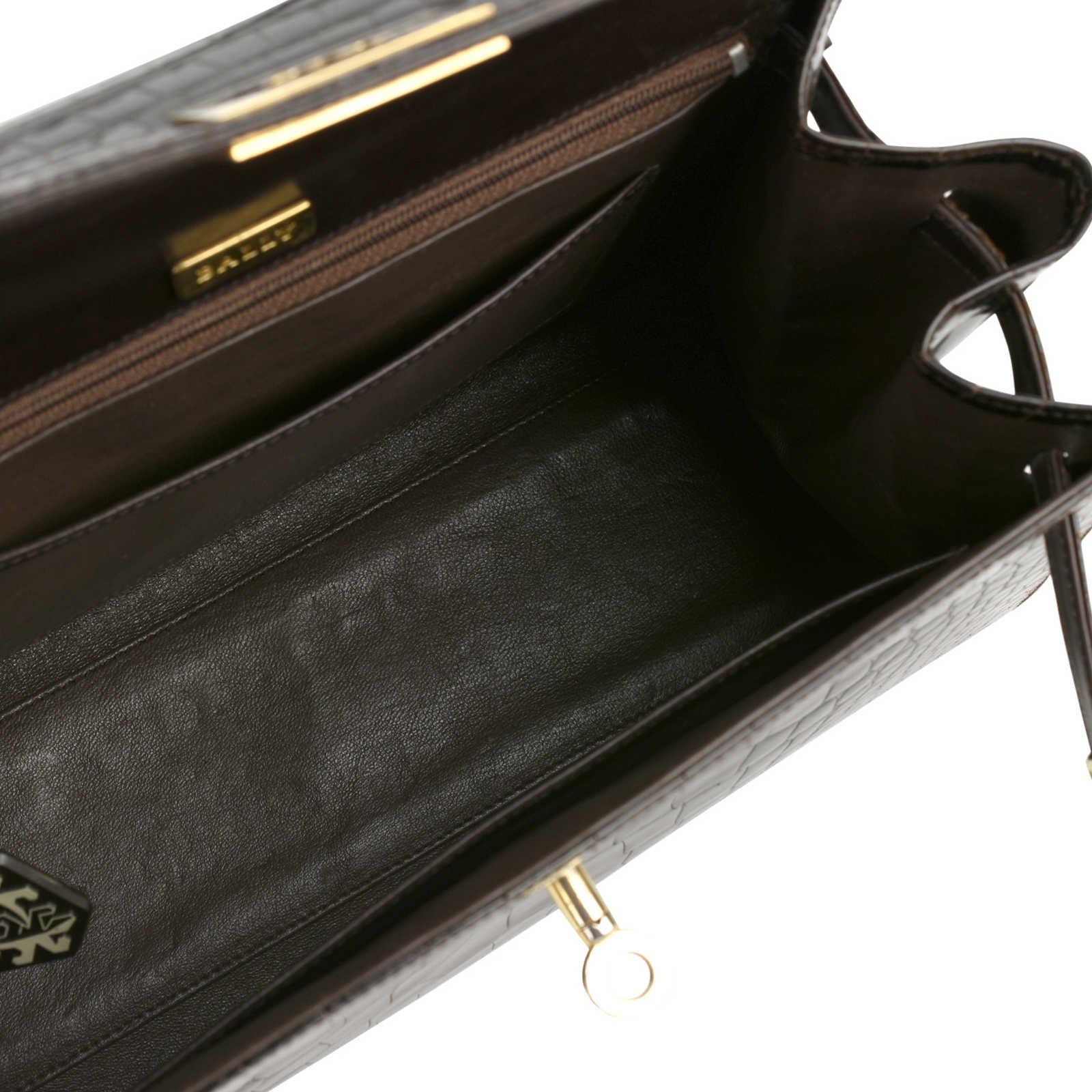 955a79b83ea3 ... Authentic Vintage Bally Kelly Style Bag (PSS-355-00023) - Thumbnail 8  ...