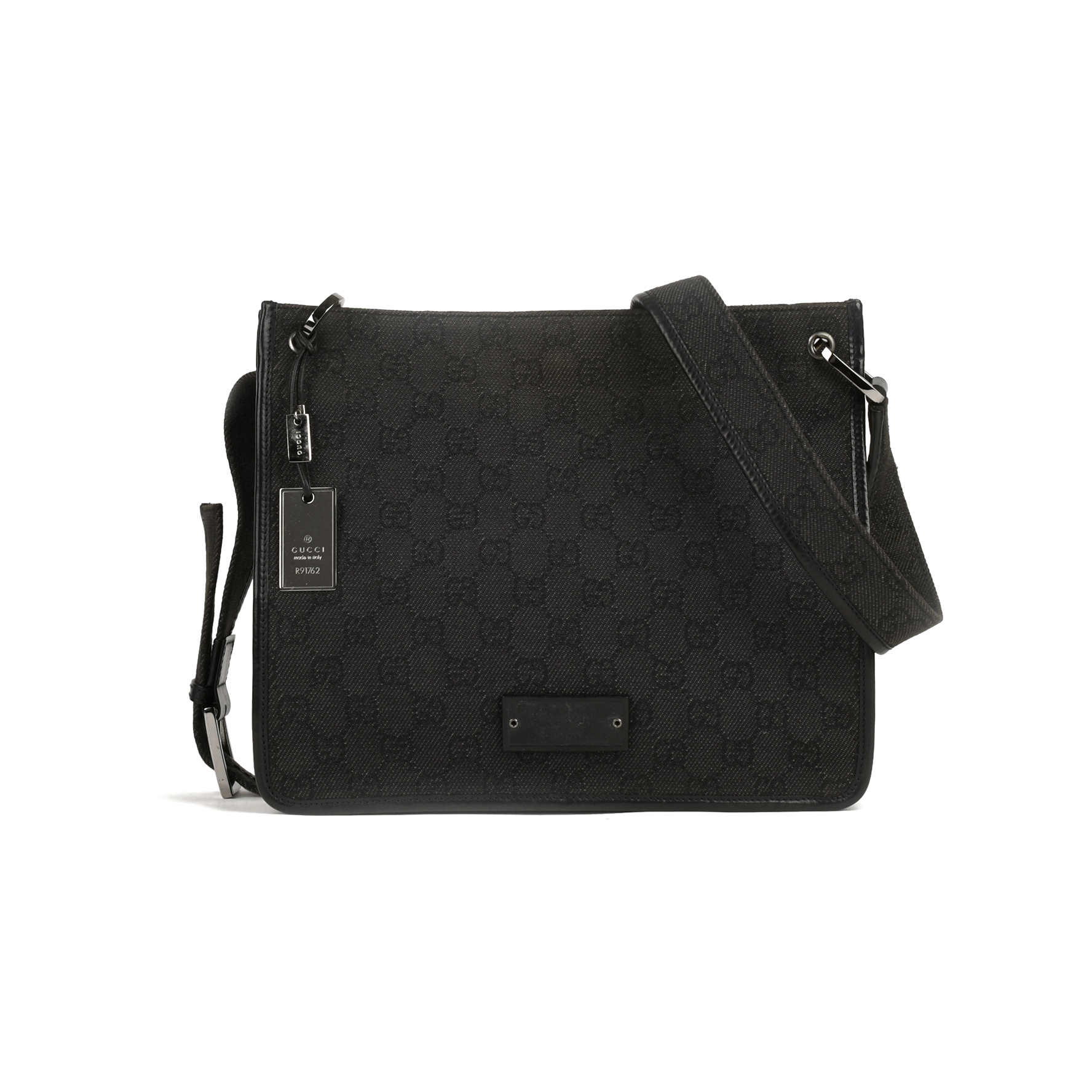94908ae26839 Authentic Second Hand Gucci GG Canvas Crossbody Bag (PSS-415-00011) | THE  FIFTH COLLECTION