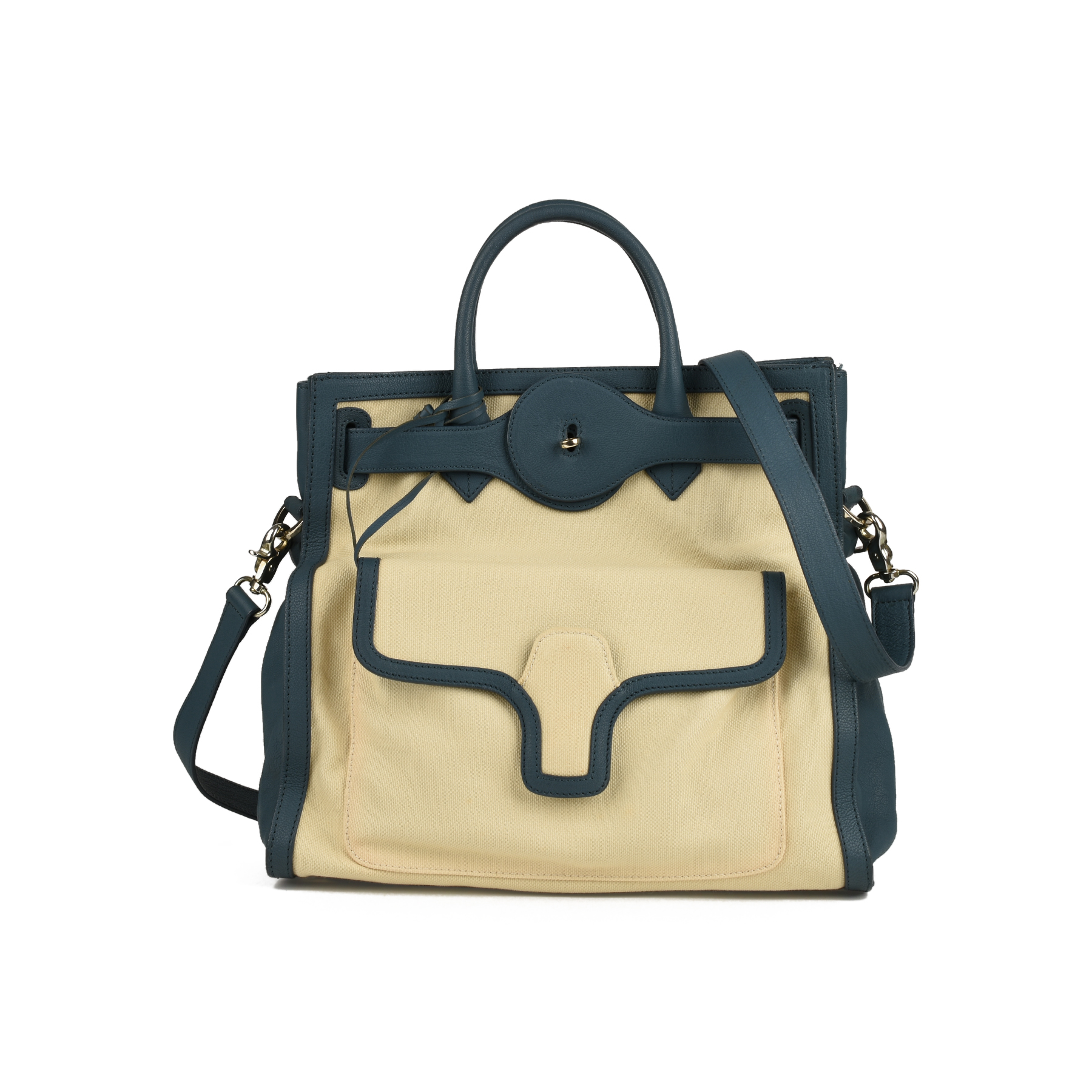709825227fe Authentic Second Hand Balenciaga Canvas Tote Bag (PSS-415-00010) - THE  FIFTH COLLECTION
