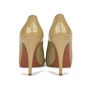Authentic Second Hand Christian Louboutin Patent Open Clic Pumps (PSS-080-00244) - Thumbnail 4
