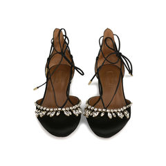Alexa Jewel Lace Up Flats