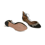 Authentic Pre Owned Aquazzura Alexa Jewel Lace Up Flats (PSS-197-00052) - Thumbnail 2
