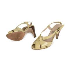 Salvatore ferragamo patent criss cross sandals 2?1517988467