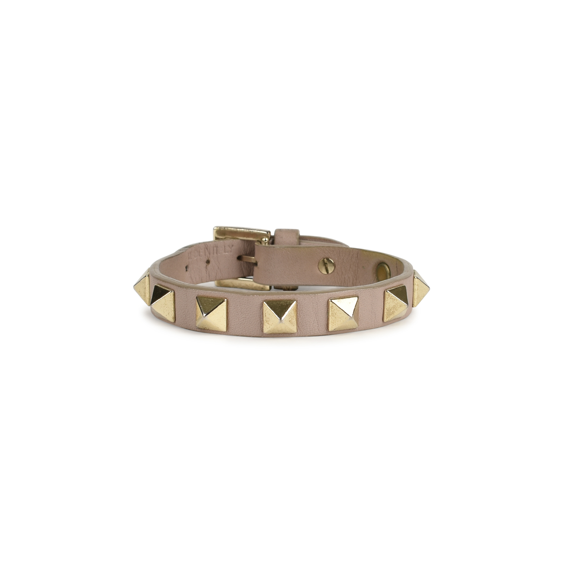 Authentic Pre Owned Valentino Rockstud Bracelet Pss 197 00054 The Fifth Collection