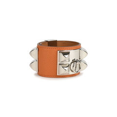 Hermes collier de chien bracelet orange 2?1517996918