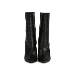 Python Wedge Boots