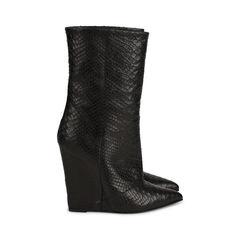 Giuseppe zanotti python wedge boots 3?1517997744