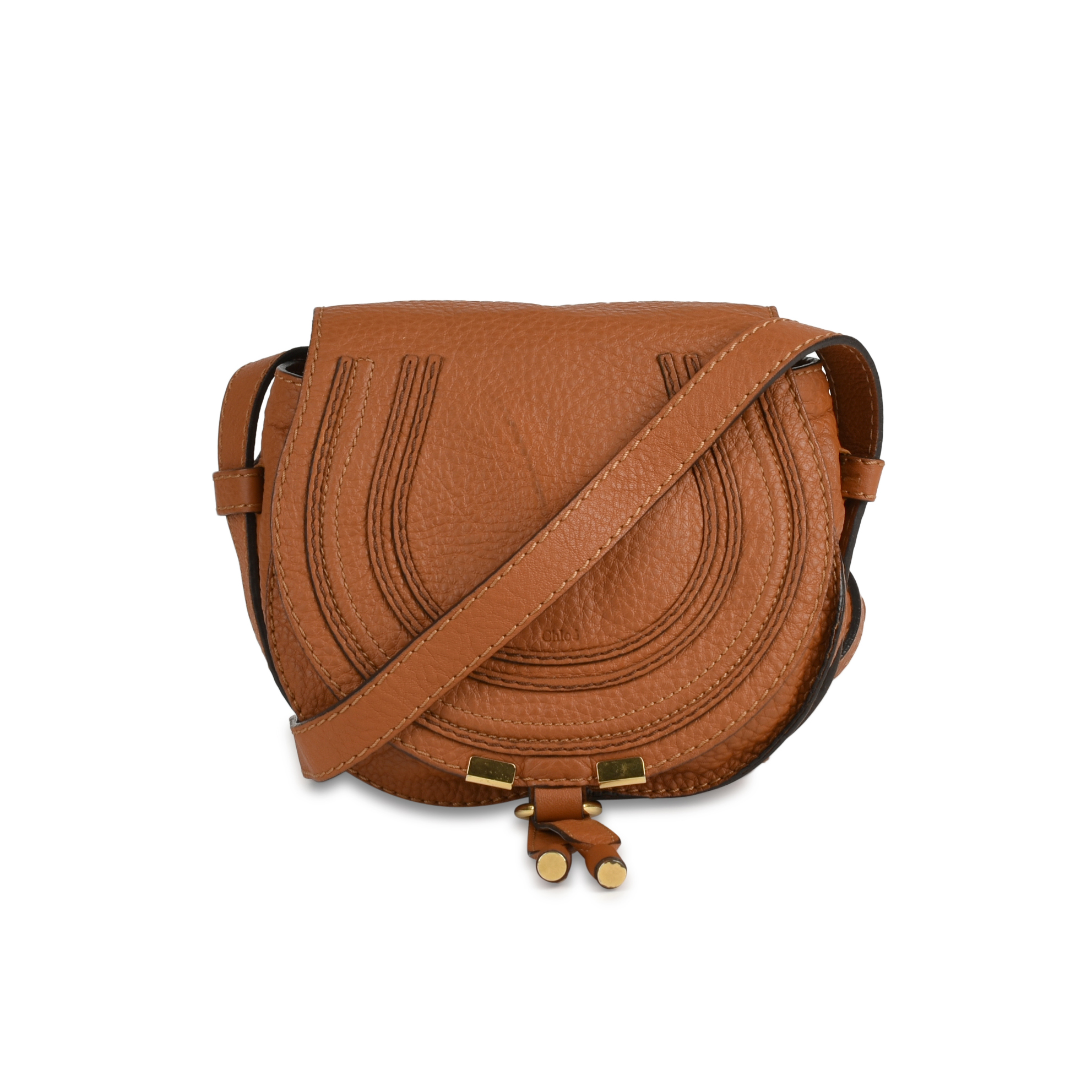 09d2028b8a0bf Authentic Second Hand Chloé Mini Marcie Crossbody Bag (PSS-429-00001) - THE  FIFTH COLLECTION