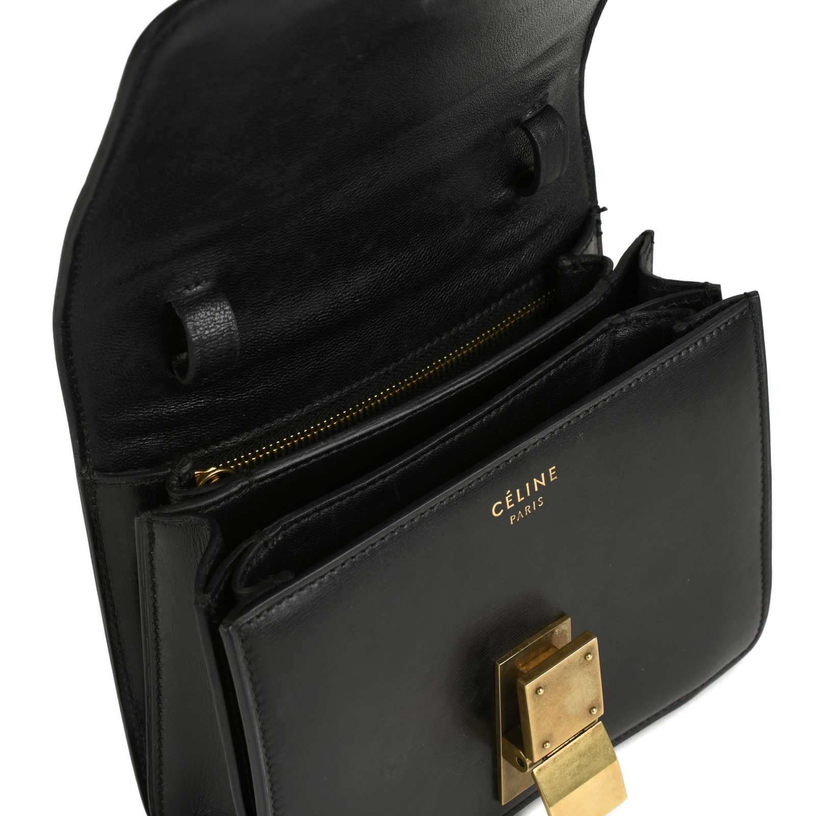 cc8eca9b9fe9 ... Authentic Second Hand Céline Small Box Bag (PSS-429-00003) - Thumbnail