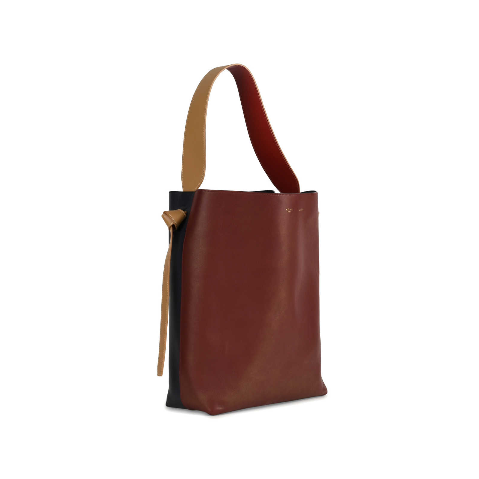 6ed1080160d5b ... Authentic Second Hand Céline Twisted Cabas Tote (PSS-145-00160) -  Thumbnail ...
