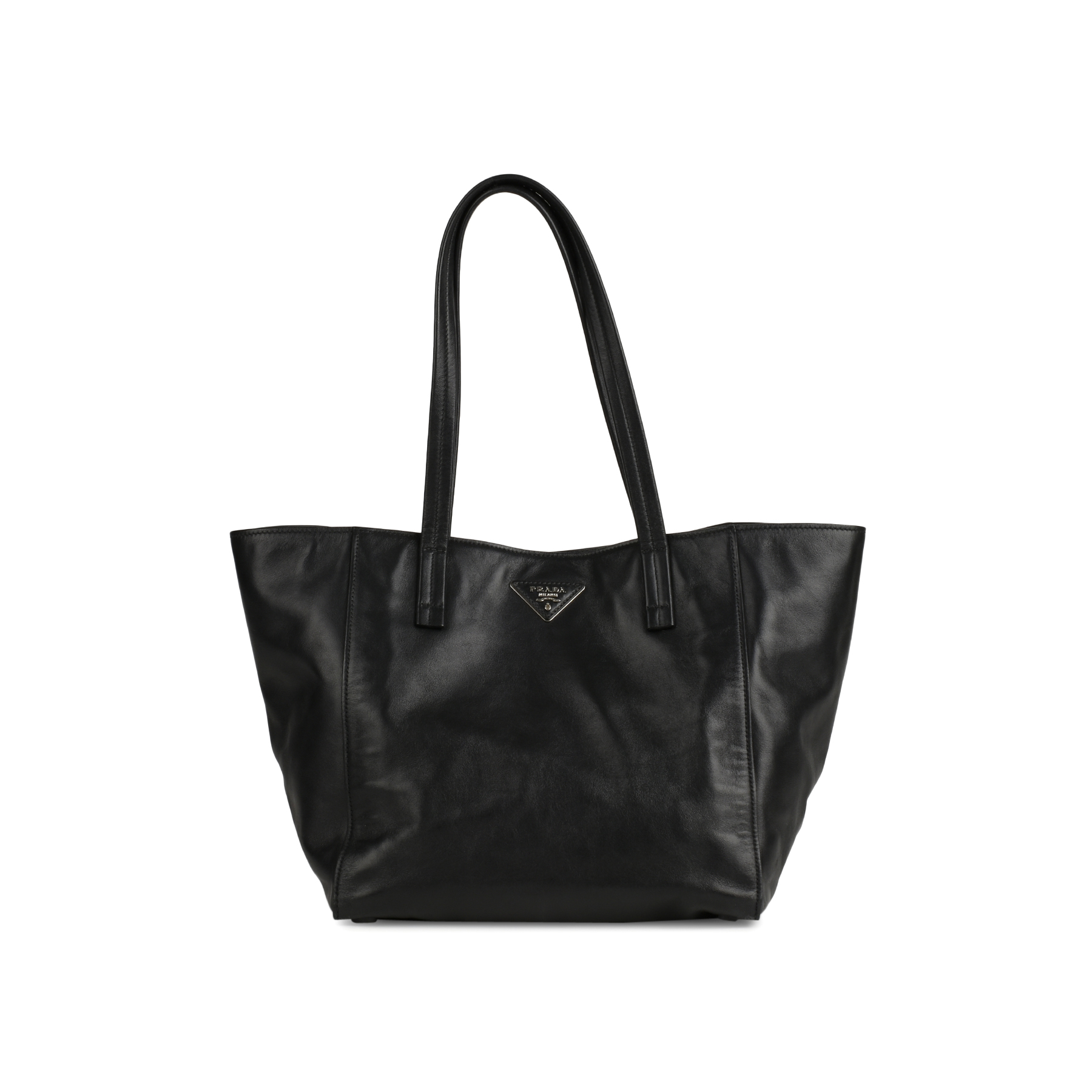 ff4a303fb637 ... canada authentic pre owned prada soft calf skin leather tote bag pss  145 00159 the fifth