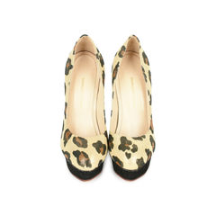 Dolly Animal Print Platform Pumps