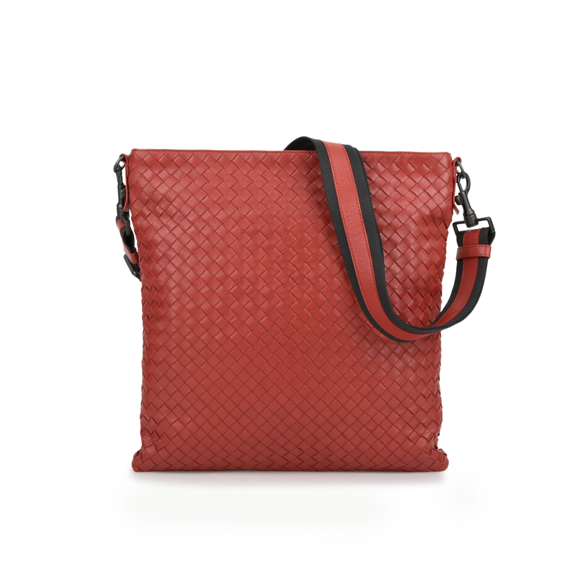 Authentic Pre Owned Bottega Veneta Intrecciato VN Crossbody Messenger  (PSS-200-01071)   THE FIFTH COLLECTION® ad3ab17419