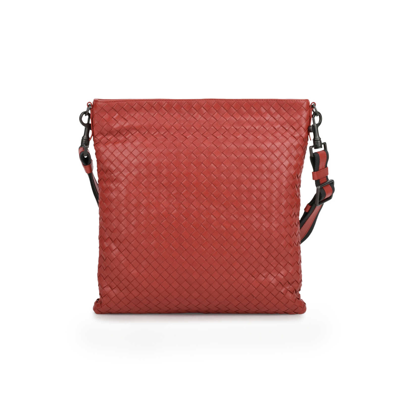 Authentic Pre Owned Bottega Veneta Intrecciato VN Crossbody Messenger (PSS-200  ... 23be95ef437cc