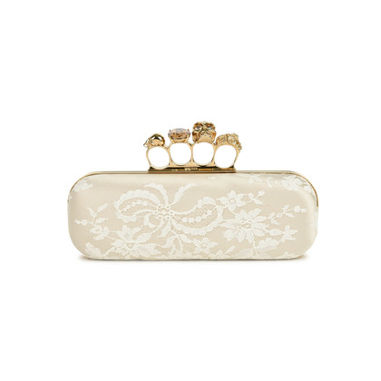 Alexander Mcqueen Lace Knuckle Duster