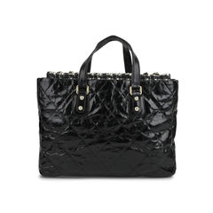 Chanel quilted leather and tweed portobello tote bag 2?1518507285