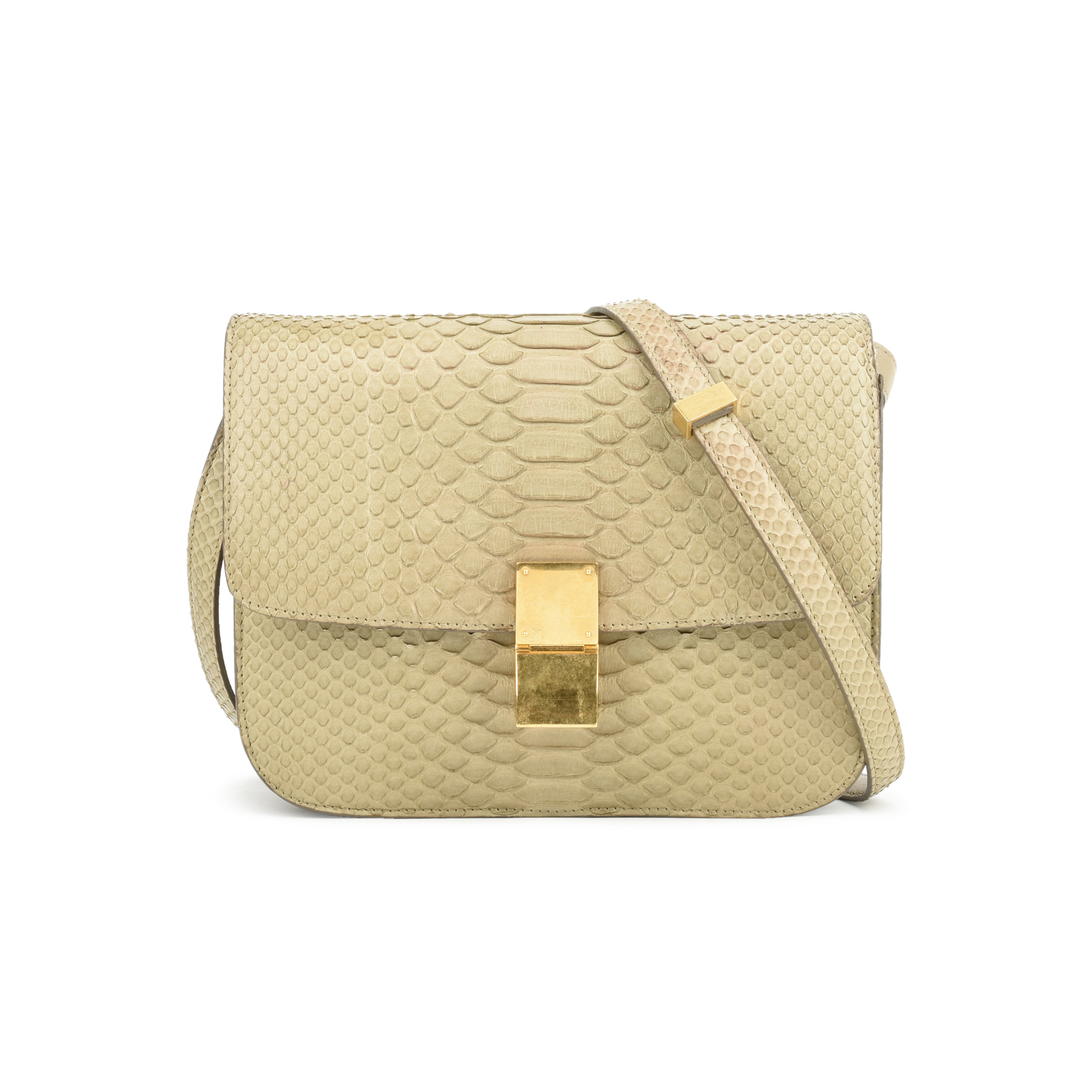 6cc4a2b54b6 Authentic Pre Owned Céline Python Box Bag (PSS-048-00126)   THE FIFTH  COLLECTION®