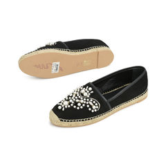Rene caovilla pearl and embroidery suede espadrilles 2?1518672686