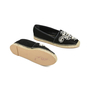 Authentic Second Hand René Caovilla Pearl Embroidered Suede Espadrilles (PSS-240-00201) - Thumbnail 2