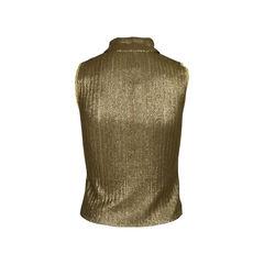 Chanel metallic top 2?1519114773