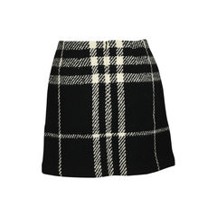 Burberry checked skirt 2?1519114977