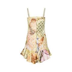 Just cavalli printed dress with ruffle hem 2?1519184981