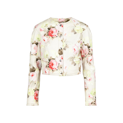 Authentic Second Hand Carven Floral Jacket (PSS-370-00072)
