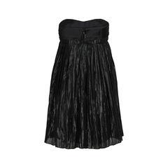 Vera wang strapless bustier dress 2?1519186523