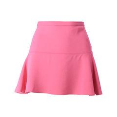 Crepe Stretch Mini Skirt