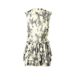 Iro printed sheer dress 2?1519196748