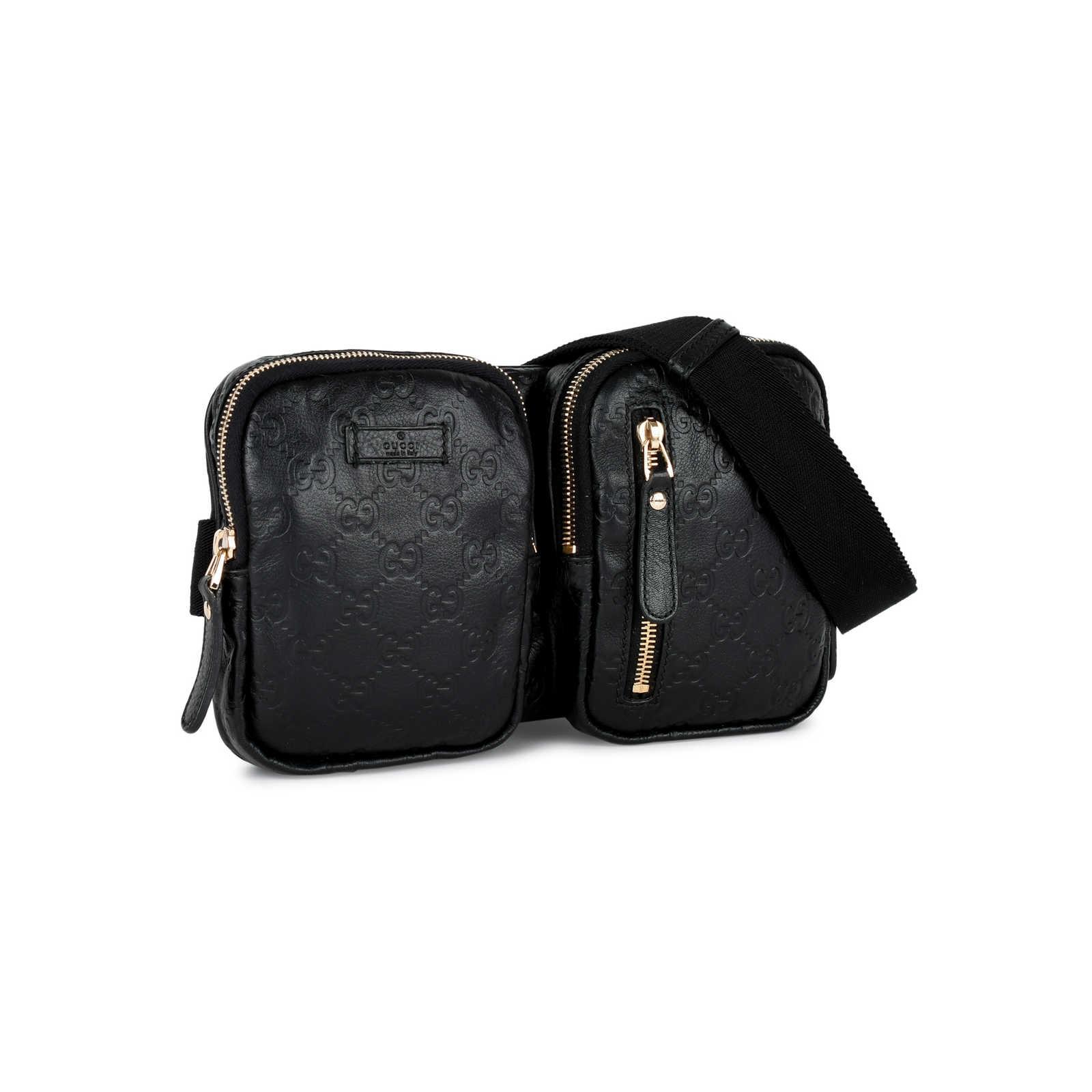 fdec6bba3a5e ... Authentic Second Hand Gucci Guccissima Belt Bag (PSS-430-00023) -  Thumbnail ...