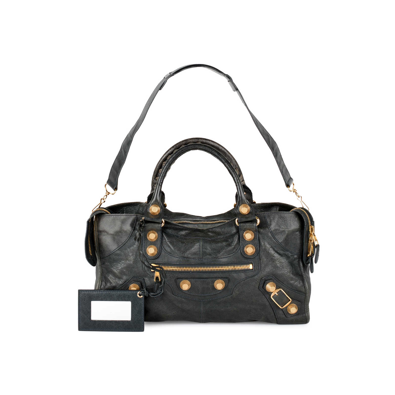 be21990c9b Authentic Second Hand Balenciaga Part-Time Giant City Bag (PSS-439-00004 ...