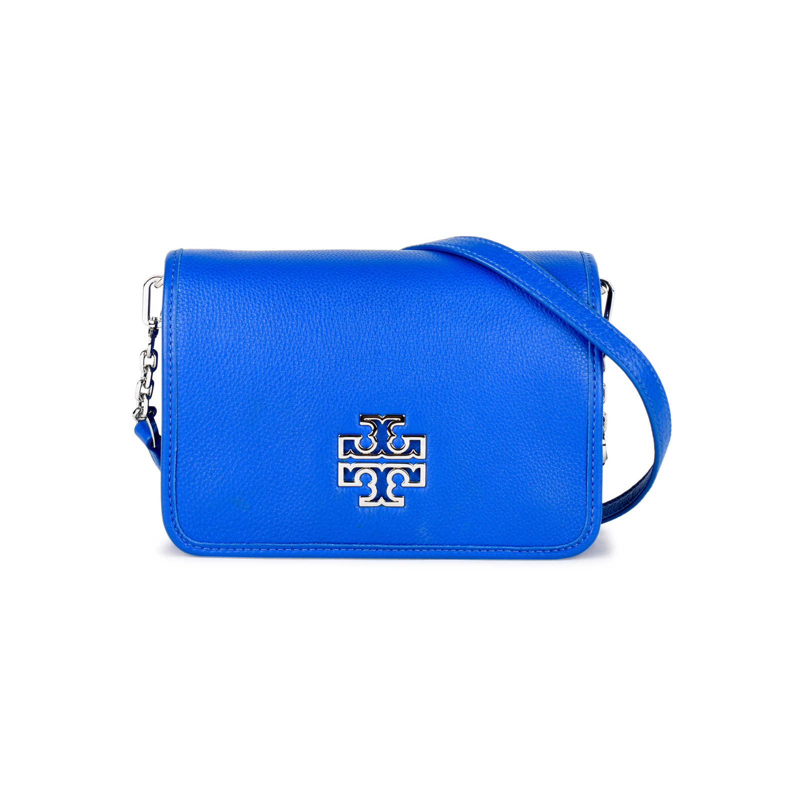 Authentic Pre Owned Tory Burch Britten Combo Crossbody Bag Pss 442 00014