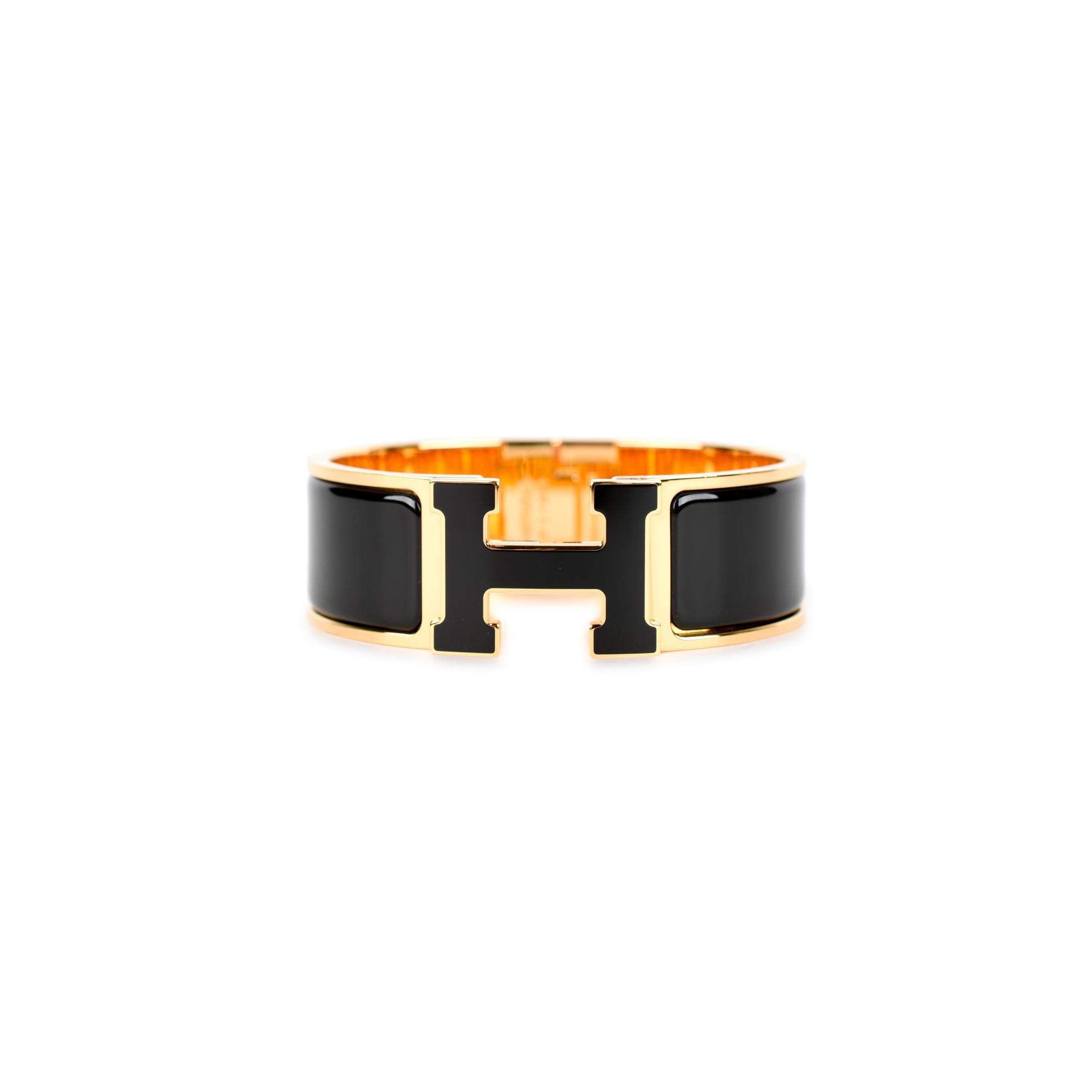 Authentic Second Hand Herm 232 S Clic Clac H Bracelet Pss 442