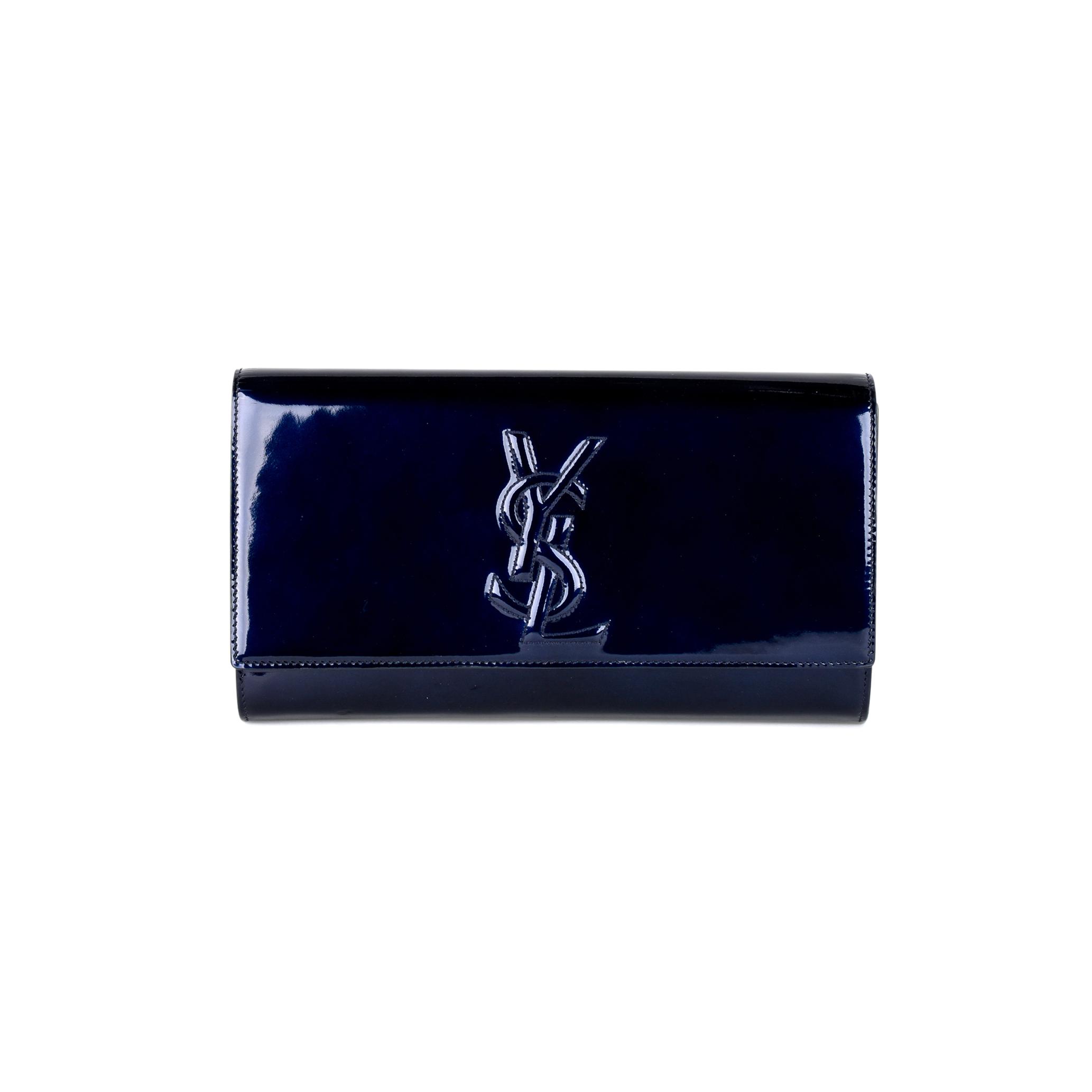 5889270681d Authentic Second Hand Yves Saint Laurent Belle de Jour Clutch  (PSS-451-00003) - THE FIFTH COLLECTION