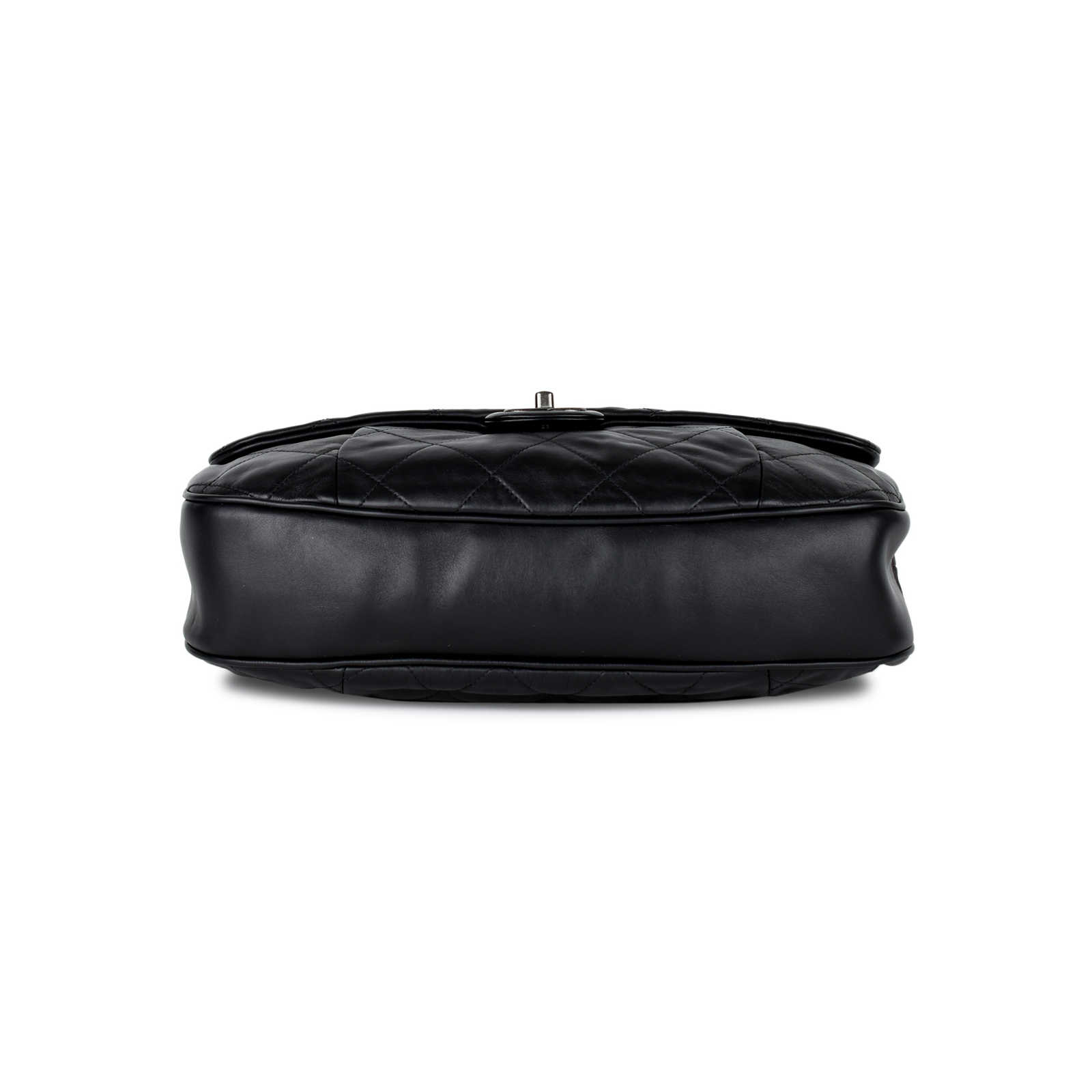 2ee0d9ce7b8 ... Authentic Pre Owned Chanel Coco Pleats Flap Bag (PSS-442-00020) ...