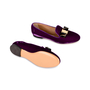 Authentic Second Hand Salvatore Ferragamo Scotty T Slippers (PSS-334-00015) - Thumbnail 2