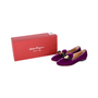 Authentic Second Hand Salvatore Ferragamo Scotty T Slippers (PSS-334-00015) - Thumbnail 5
