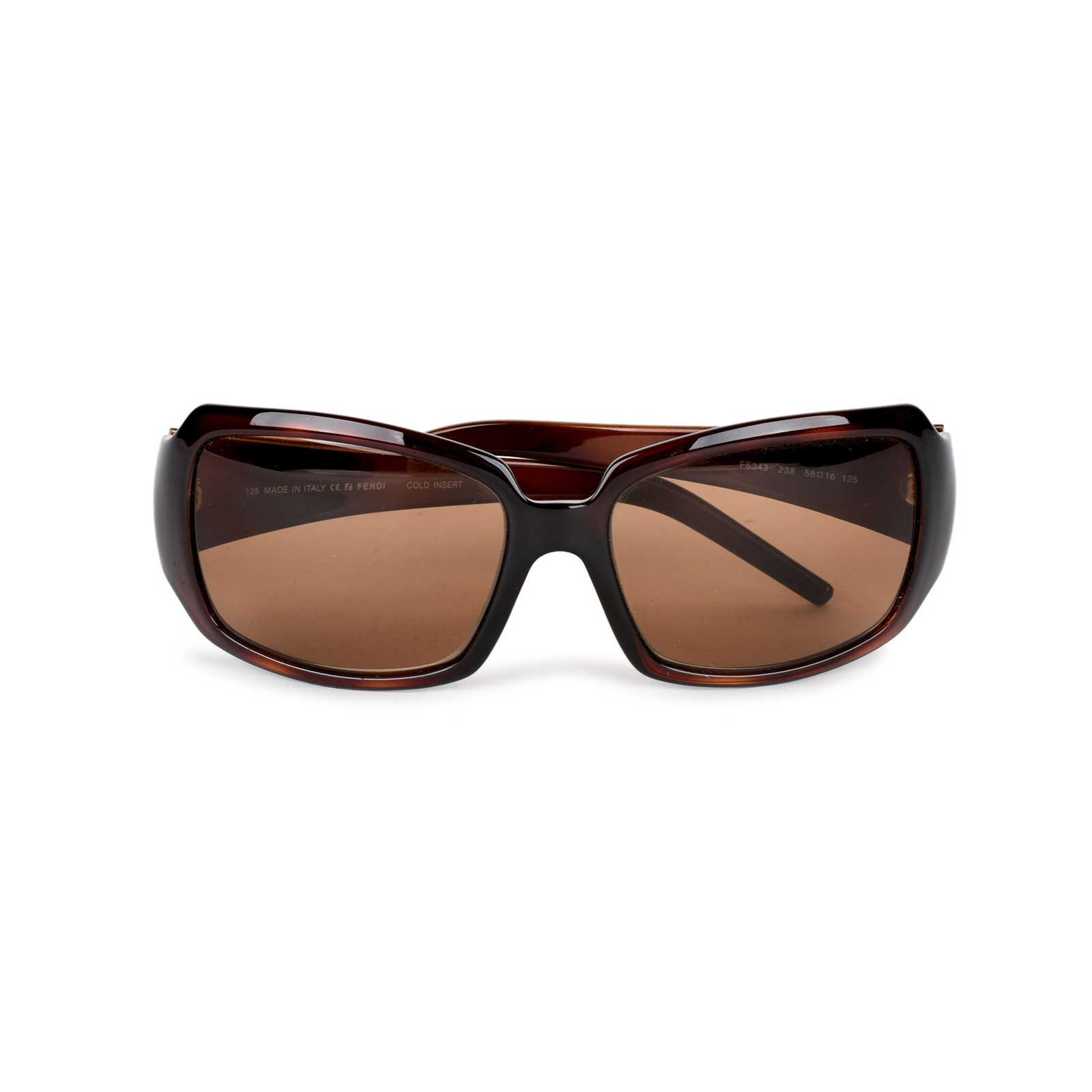 e9e321d1c3458 ... Authentic Second Hand Fendi Logo Detail Sunglasses (PSS-334-00018) -  Thumbnail ...