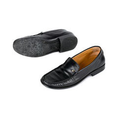Bally black leather loafers 2?1519801718