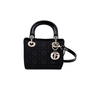 Authentic Vintage Christian Dior Nylon Micro Lady Dior Bag (PSS-034-00015) - Thumbnail 0