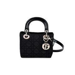 Nylon Micro Lady Dior Bag