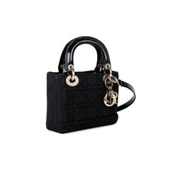 Christian dior nylon mini lady dior bag 2?1519802851