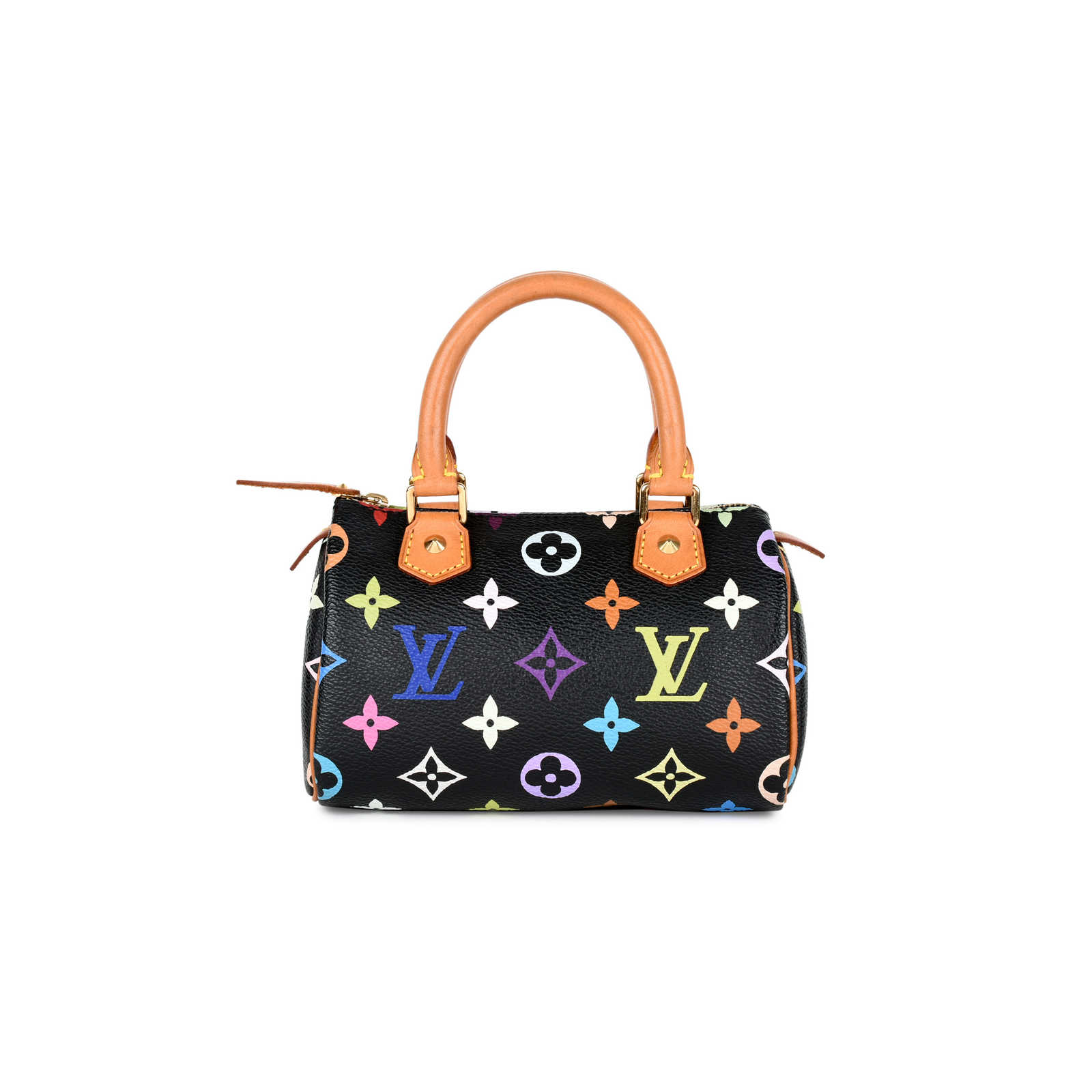 a0285a24aaf36 Authentic Second Hand Louis Vuitton Multicolore Mini Sac HL Speedy  (PSS-034-00016 ...