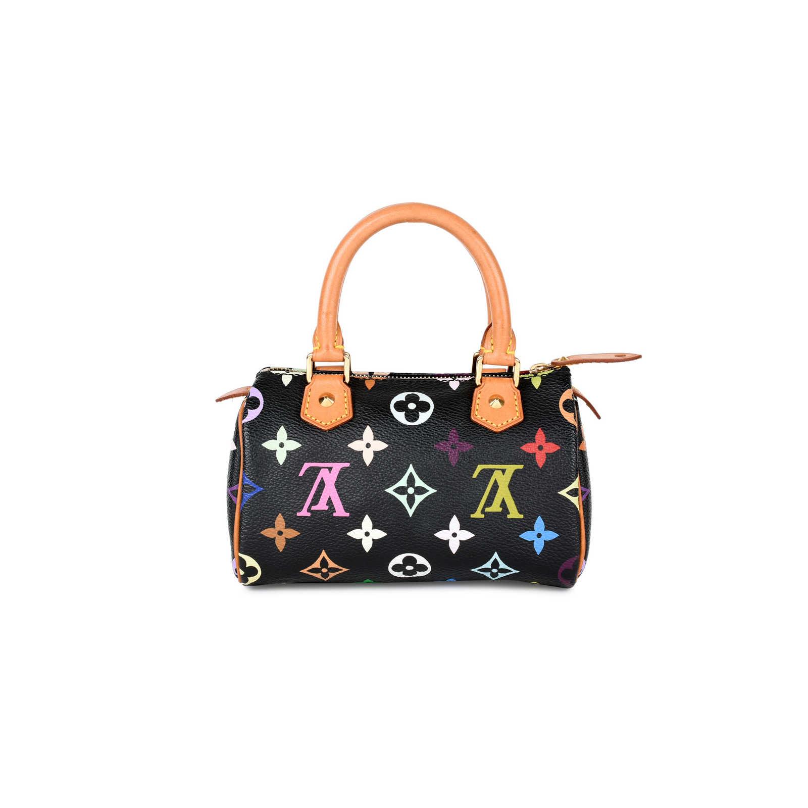 bbeee18e924 Authentic Second Hand Louis Vuitton Multicolore Mini Sac HL Speedy ...