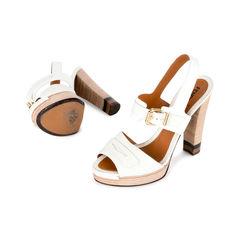 Fendi textured leather sandals 2?1519805410